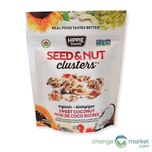 Hippiesnacks Seed Nut Clusters Sweet Coconut1 510x510, Change Market