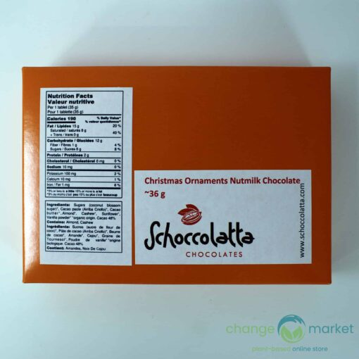 Schoccolatta Christmas Ornaments Nutmilk Chocolate 510x510, Change Market