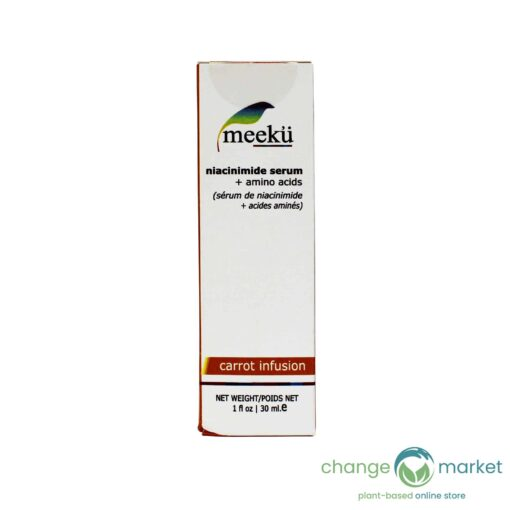 Meeku Carrot Infusion Niacinimide Facial Serum1 510x510, Change Market