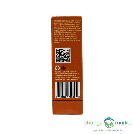 Meeku Carrot Infusion Niacinimide Facial Serum3 510x510, Change Market
